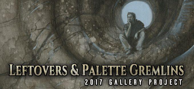 LEFTOVERS & PALETTE GREMLINS 2017