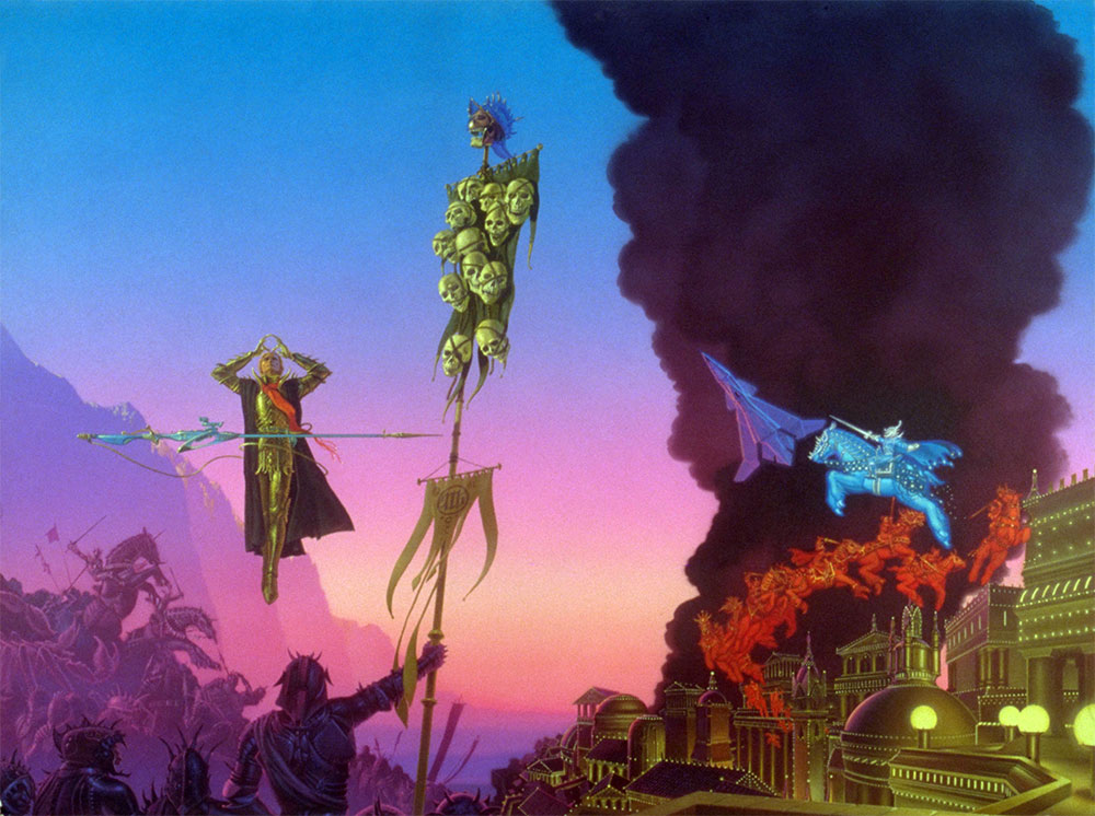 MANY COLORED LAND The Art Of Michael Whelan