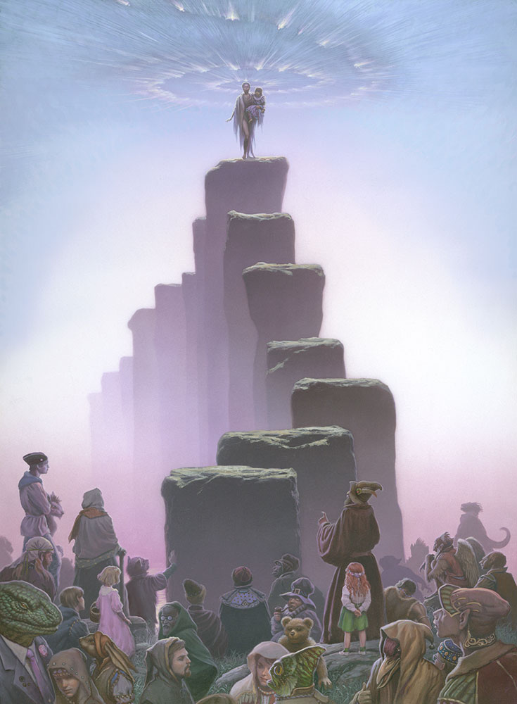 Otherland Sea Of Silver Light 171 The Art Of Michael Whelan