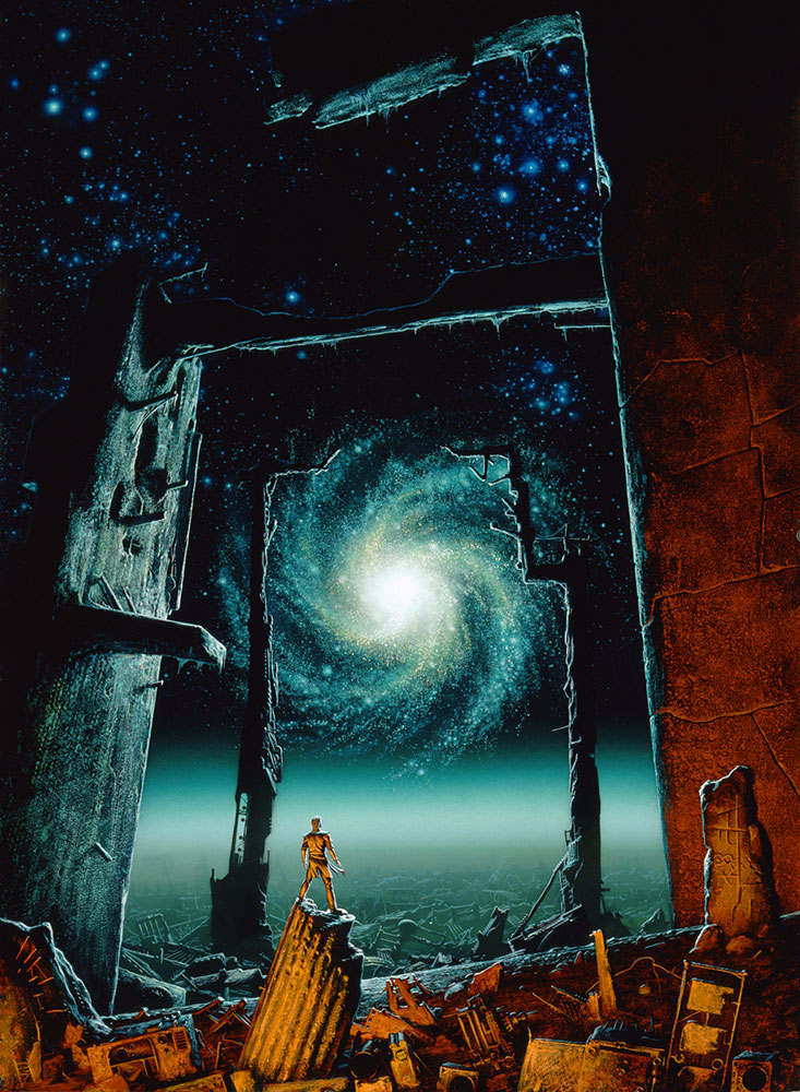 Free Fantasy Book Cover Art : Asimov « search results the art of michael whelan