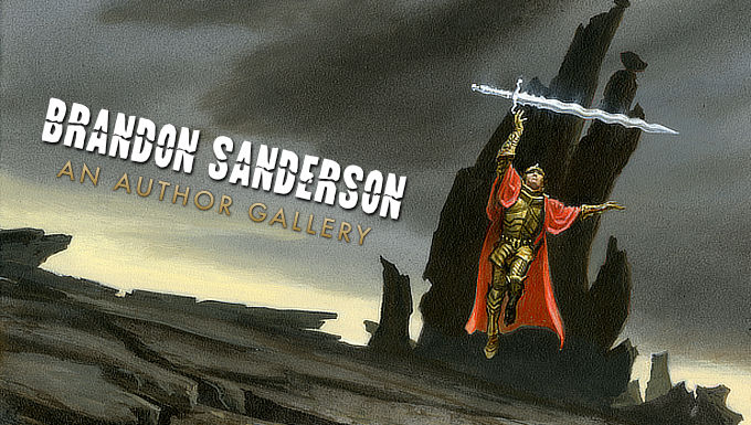 BRANDON SANDERSON: AN AUTHOR GALLERY