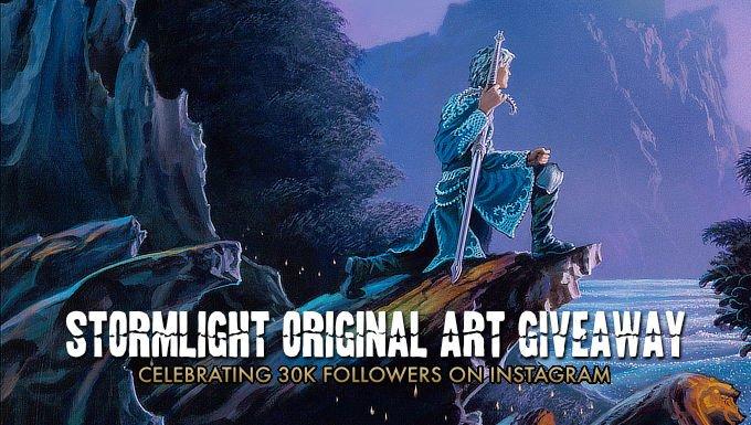 30K ORIGINAL ART GIVEAWAY ON INSTAGRAM