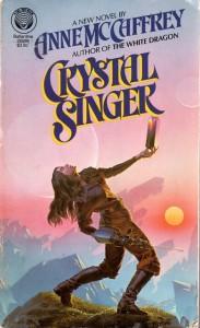 CRYSTAL SINGER (PAPERBACK COVER)