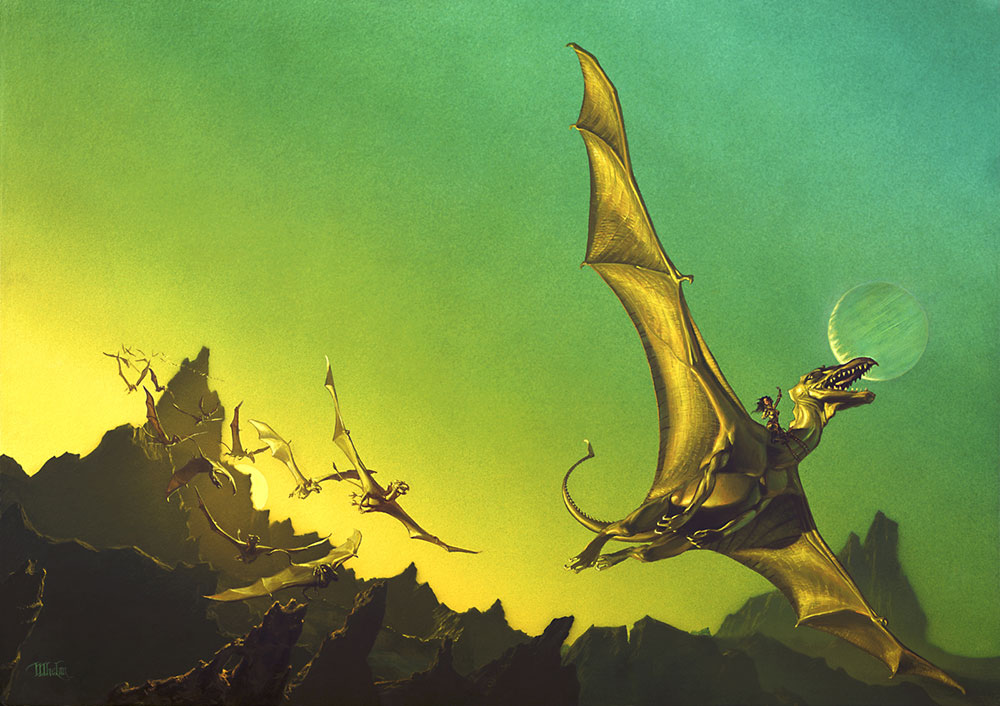 DRAGONS « The Art of Michael Whelan