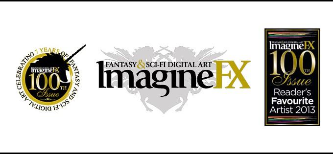 IMAGINEFX 100 FAVORITE ARTISTS