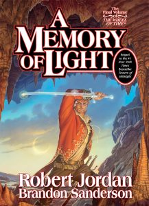 COVER FOR A MEMORY OF LIGHT